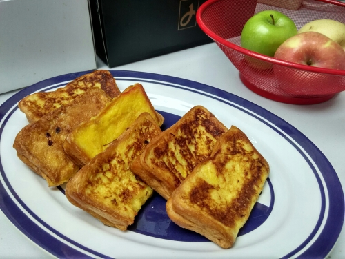 french toast isi keju :-)