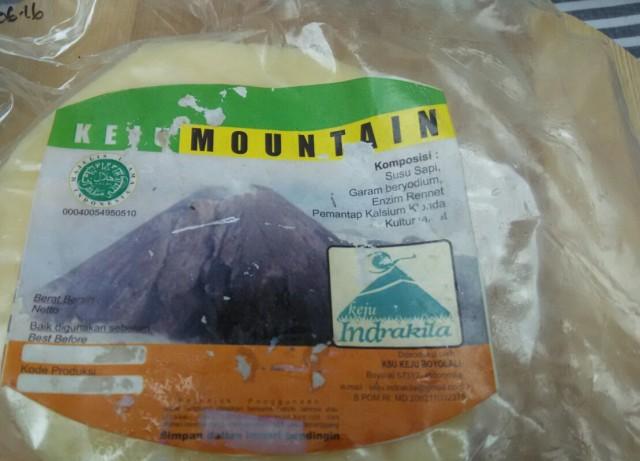 Review Keju Indrakila: Pekat Susu Asin Sepotong Mountain