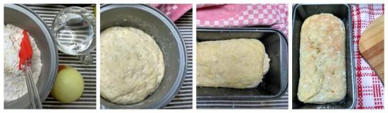 proses pembuatan roti bawang sederhana :-)