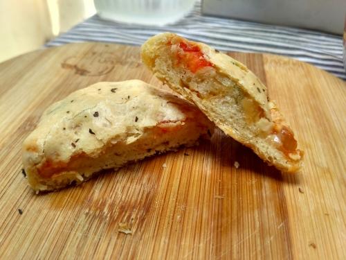 rasanya pizza seperti biasa hanya tampilannya berbeda :-)