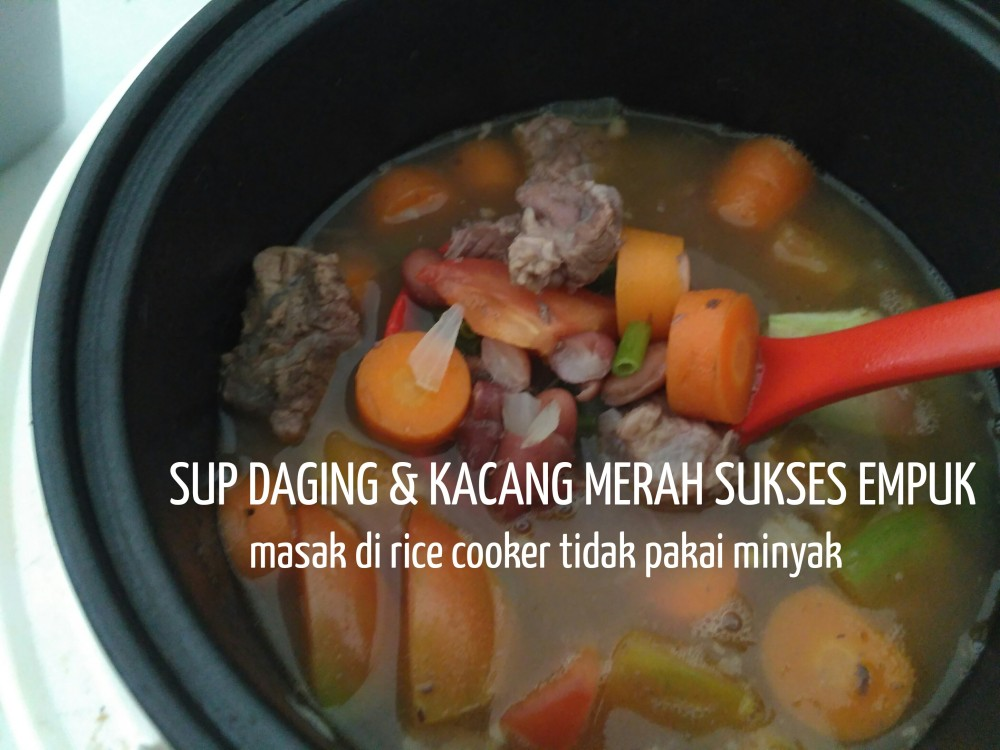 daging kacang merah sukses empuk         p Resepi Nasi Minyak Tanpa Minyak Sapi Enak dan Mudah